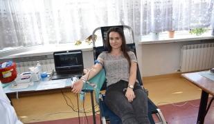 Rekordowy pobór krwi w ZS CKR w Gołotczyźnie - 19.02.2019r.