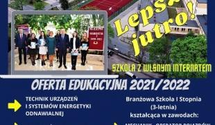 Kierunki kształcenia w ZS CKR w Starym Lubiejewie