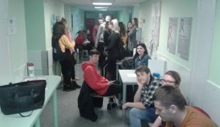 Krwiodawcy z ZSCKR w Nowym Targu