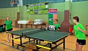 Mistrzostwa Szkół Rolniczych w tenisie stołowym