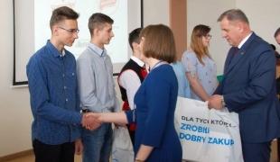 Okręgowe eliminacje Olimpiady Wiedzy i Umiejętności Rolniczych w Bielsku Podlaskim.