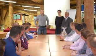 Staż zagraniczny uczniów z Zespołu Szkół CKR w Starym Lubiejewie.
