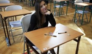 Tuż przed egzaminem maturalnym
