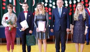 Uroczystość zakończenia roku szkolnego 2018/2019 maturzystów.