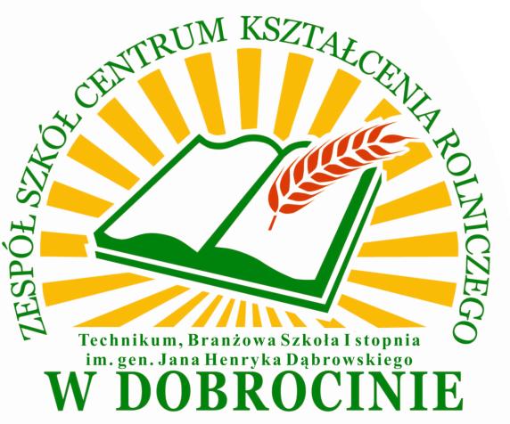 Logo Zespół Szkół Centrum Kształcenia Rolniczego w DOBROCINIE
