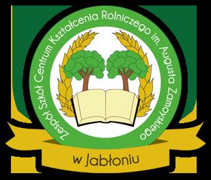 Logo Zespół Szkół Centrum Kształcenia Rolniczego im. Augusta Zamoyskiego  w JABŁONIU