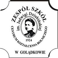 Logo Zespół Szkół Centrum Kształcenia Rolniczego im. Jadwigi Dziubińskiej  w  GOLĄDKOWIE