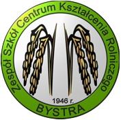 Logo Zespół Szkół Centrum Kształcenia Rolniczego w BYSTREJ