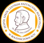 Logo Zespół Szkół Centrum Kształcenia Rolniczego im. ks. dr Jana Dzierżona  w BOGDAŃCZOWICACH