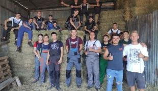 Kolejna grupa uczniów Zespołu Szkół CKR w Starym Lubiejewie odbyła praktykę zawodową w Grecji