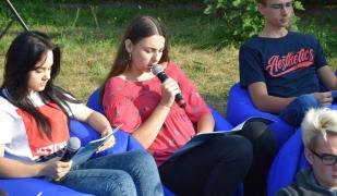 Narodowe Czytanie w Zespole Szkół CKR w Starym Lubiejewie