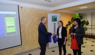 Zarządzanie finansami w gospodarstwie rolnym - spotkanie uczniów Zespołu Szkół CKR w Starym Lubiejewie z przedstawicielami BNP Paribas Bank Polska